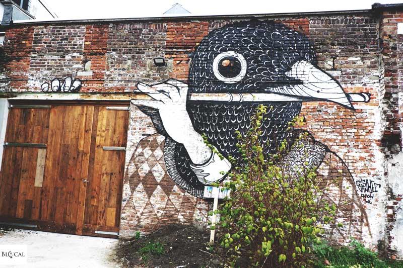 Gijs Vanhee street art in ghent