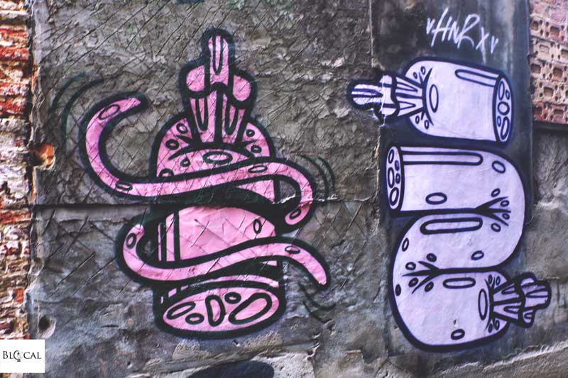 HNRX street art ghent