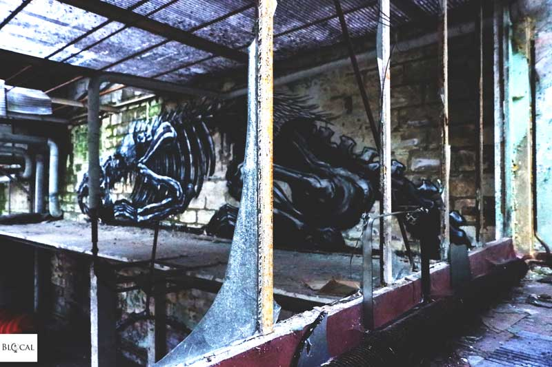ROA abandoned factory in ghent