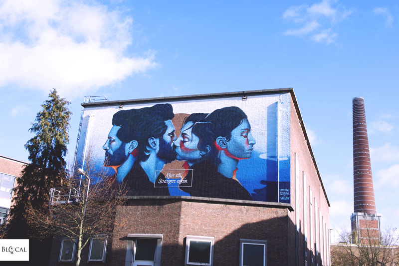 Matthew Dawn street art in ghent