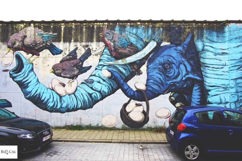bastardilla ericailcane street art in ghent