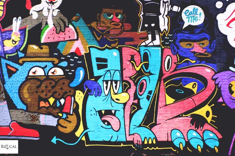 baudelohof jam bue street art in ghent