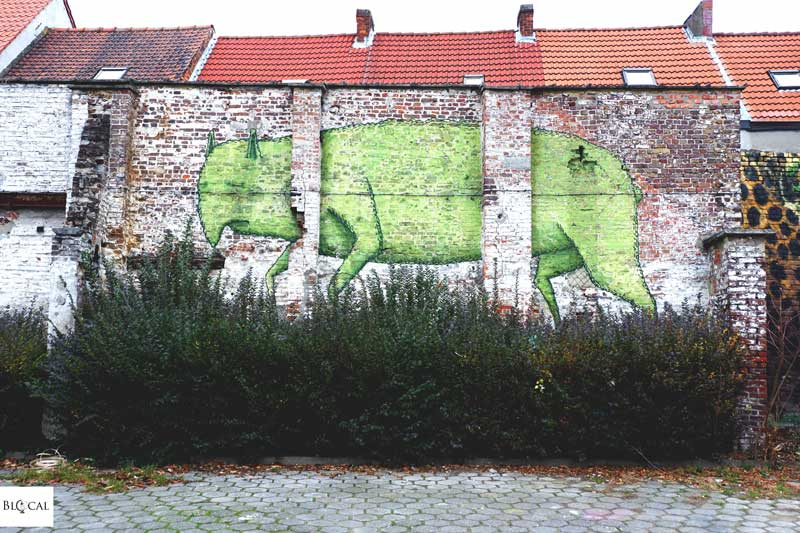 bisser street art in ghent