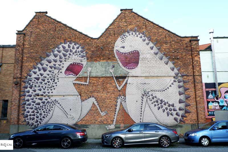 Bisser street art Ghent