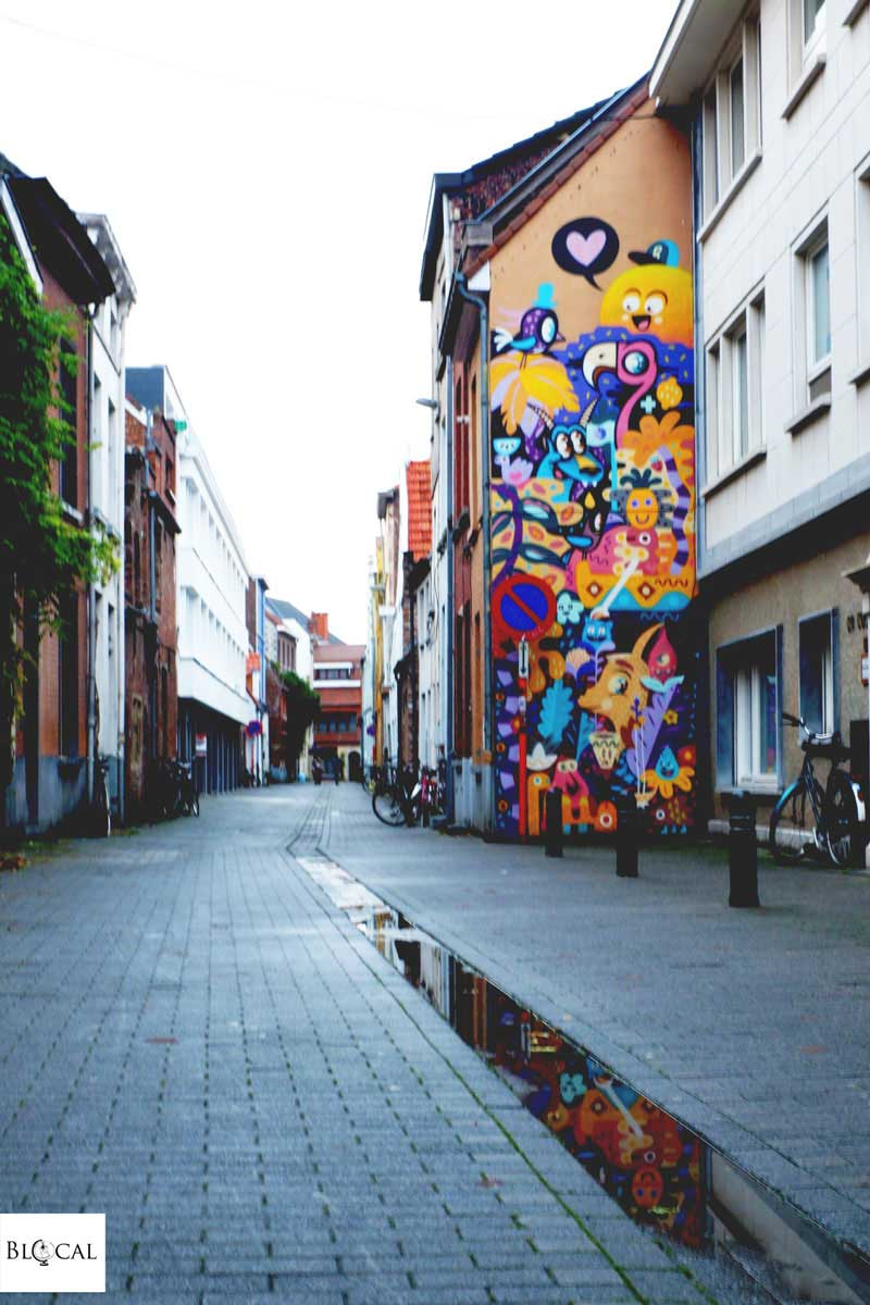 bue the warrior billy colors merny merz street art ghent