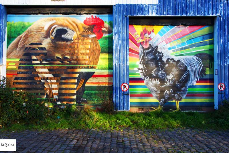 ceepil street art in ghent
