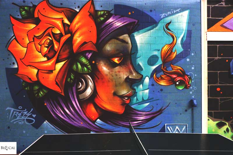 dyoz street art in ghent treze