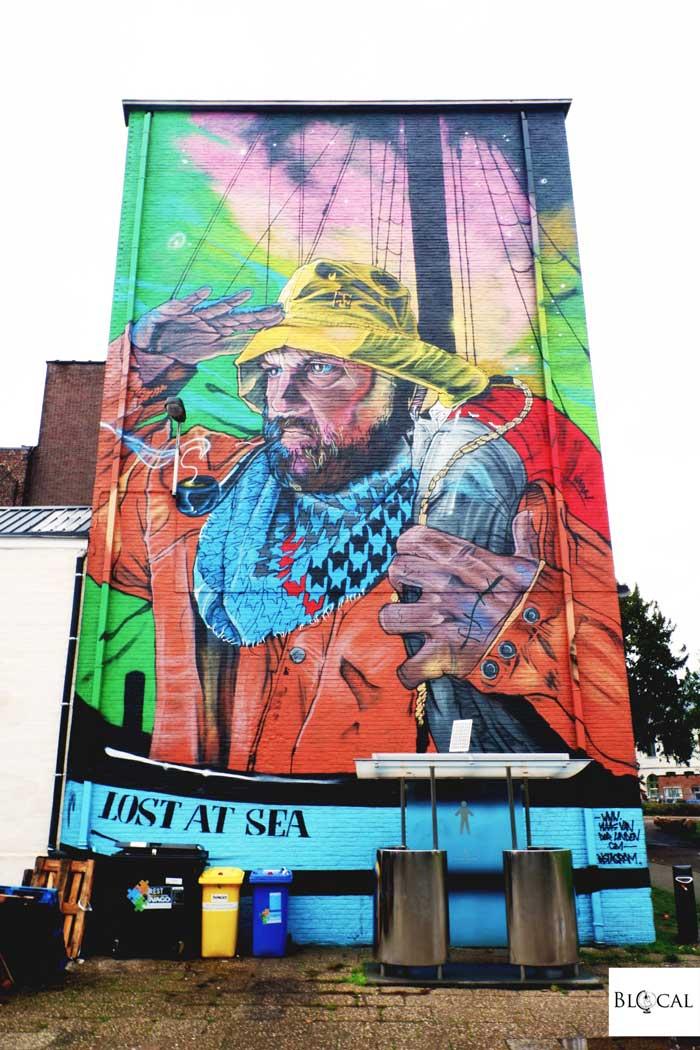 klaas van der linded street art in ghent