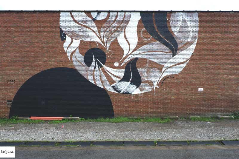 Lucy McLauchlan street art ghent