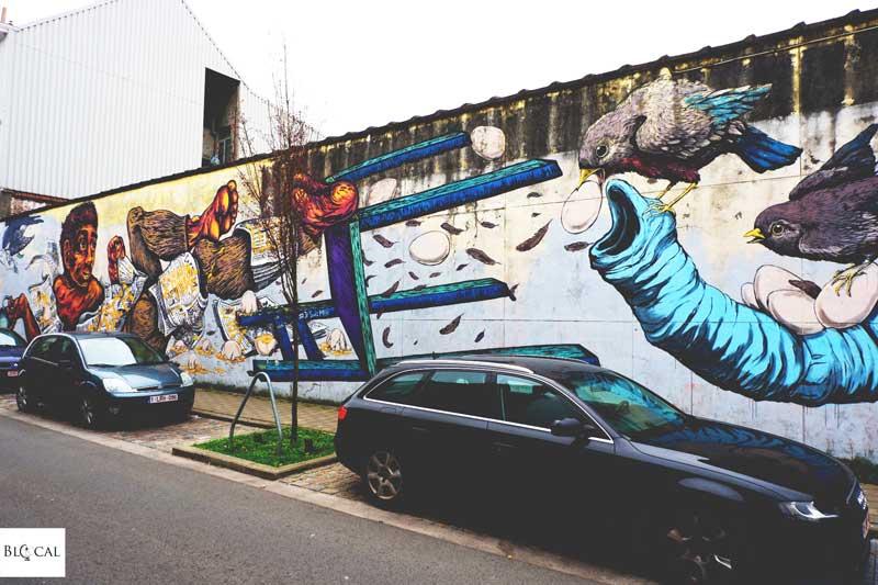 ericailcane bastardilla street art in ghent