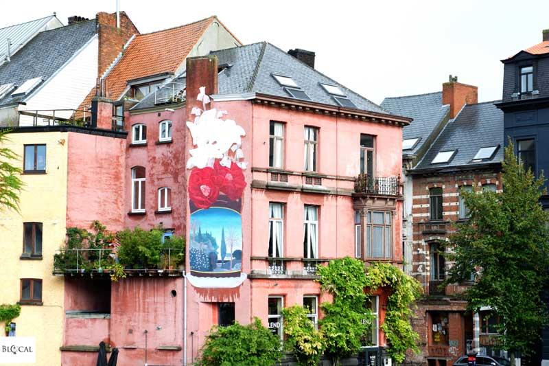 pastel street art ghent