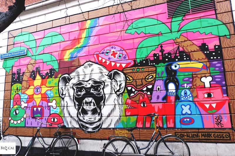 oxalien street art rotterdam