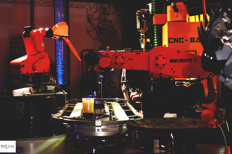 cocktail robots wunderbar rotterdam