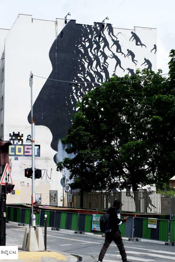 david de la mano street art