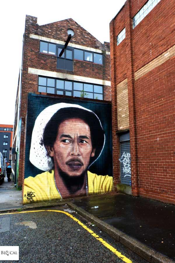 Akse contrast mural festival Liverpool