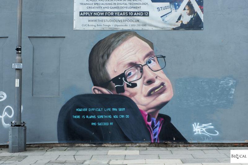 Akse street art Liverpool