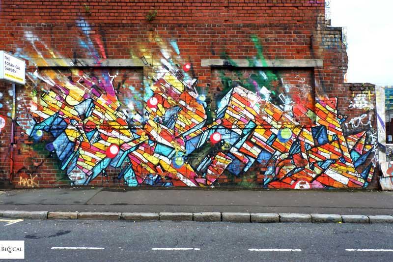 Betarok street art Liverpool