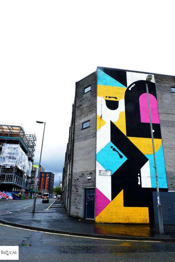 Darren John street art Liverpool