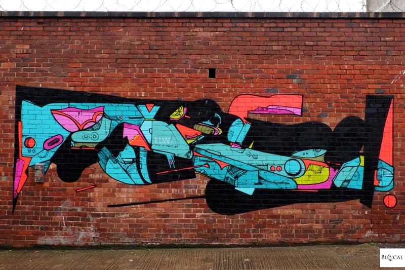Deadilw Deadone street art Liverpool