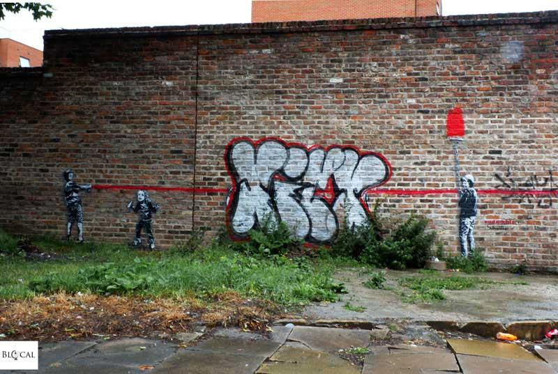 Dotmaster street art Liverpool