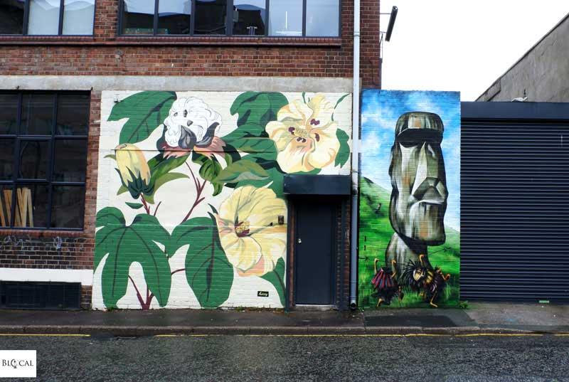 Hixxy + Lost Hills street art Liverpool