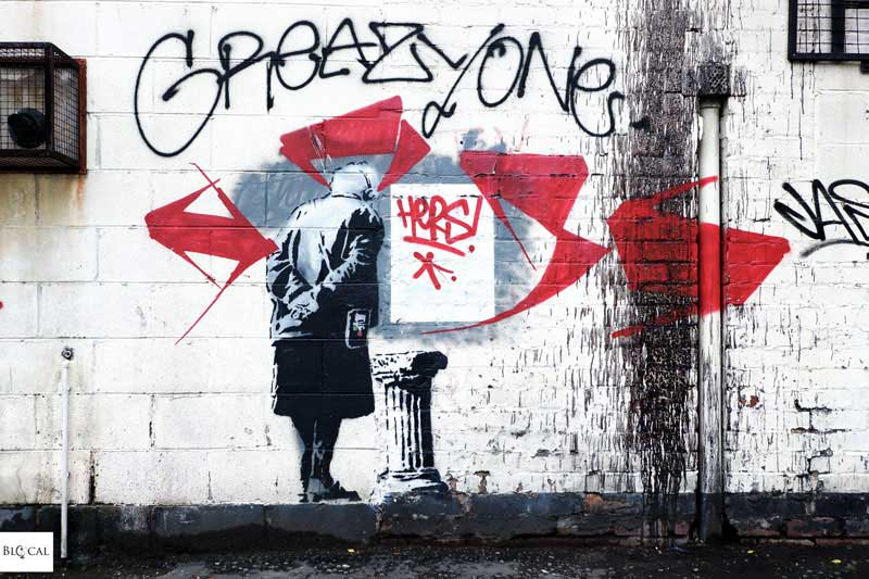 John d'oh street art Liverpool