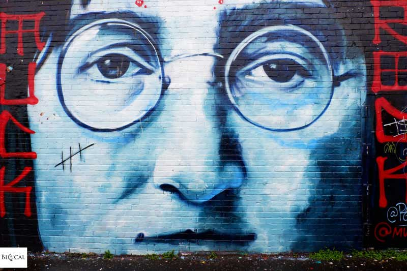 Jules Muck John Lennon street art Liverpool