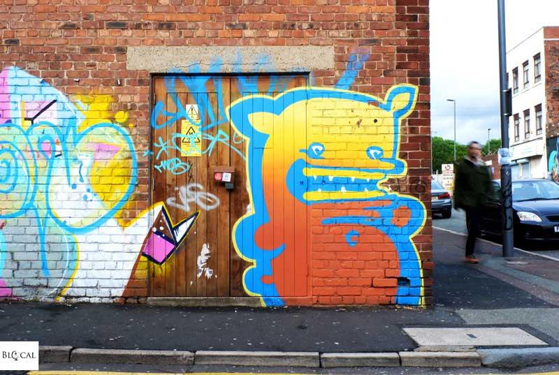 Kiwie street art Liverpool