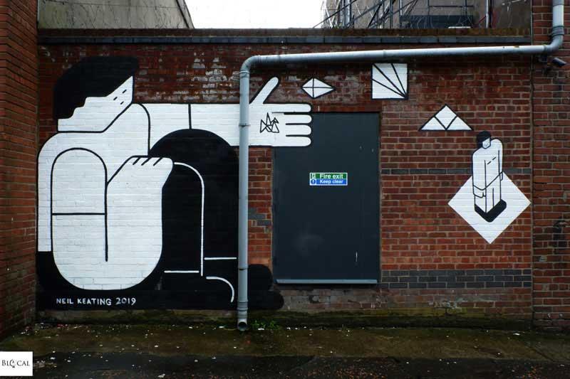 Neil Keating contrast mural festival Liverpool