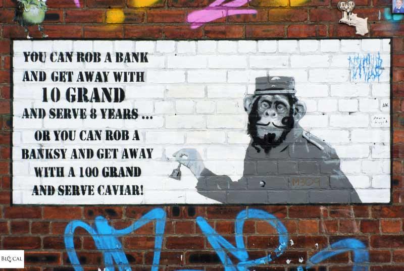 Silent Bill Bansky street art Liverpool