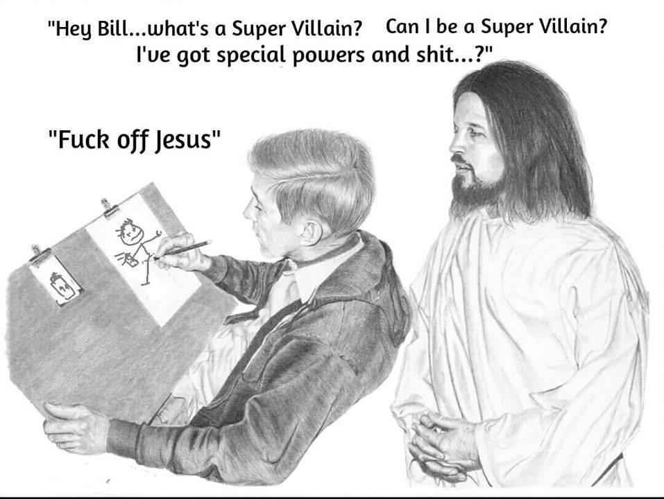 The Secret Society of Super Villain Artists