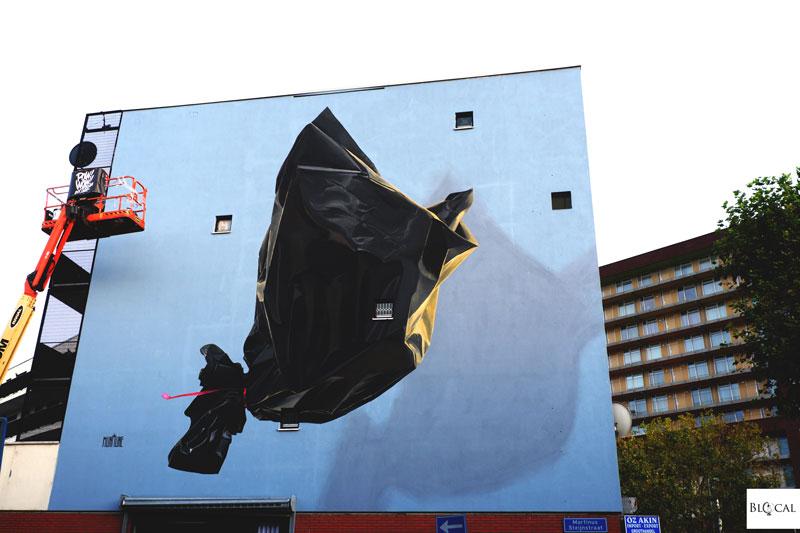 Murmure street art Pow! Pow! Rotterdam 2019