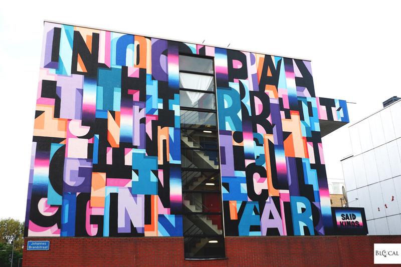 Said Kinos street art Pow! Wow! Rotterdam 2019