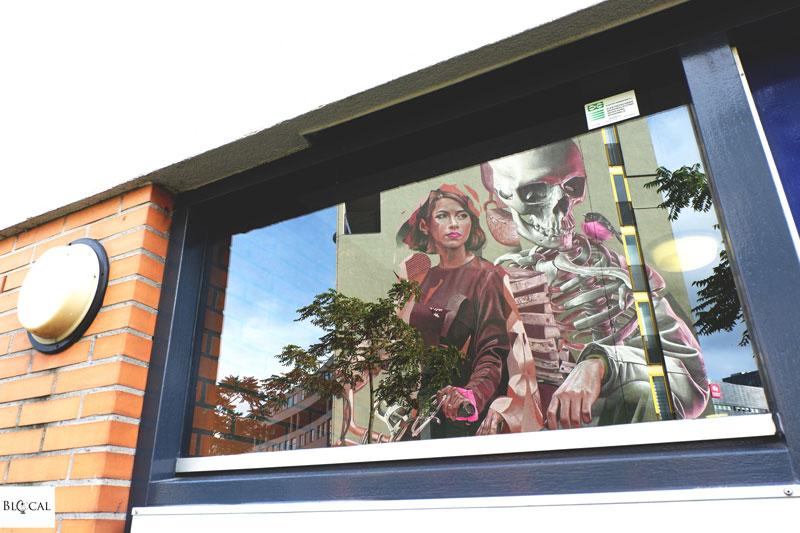 Pow! Wow! Rotterdam Smug x TelmoMiel street art
