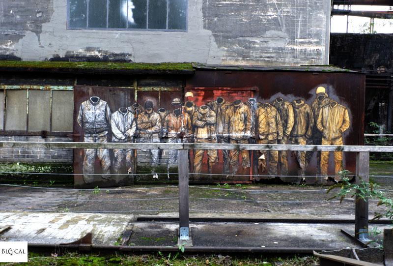 Levalet Urban Art Biennale 2019 Volklinger Hutte