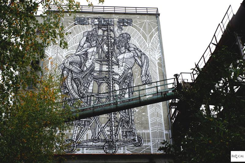 Monkeybird Urban Art Biennale 2019 Volklinger Hutte