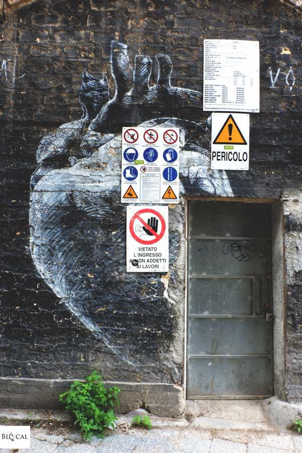 Axel void street art palermo