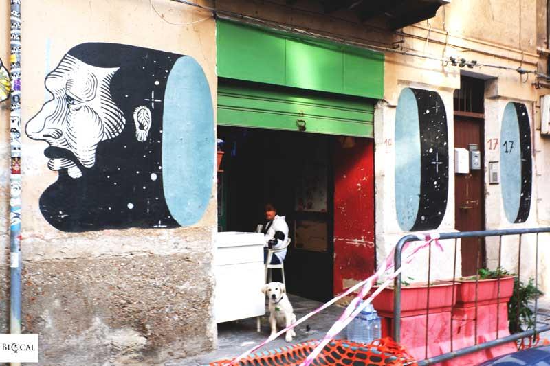 andrea casciu street art in palermo