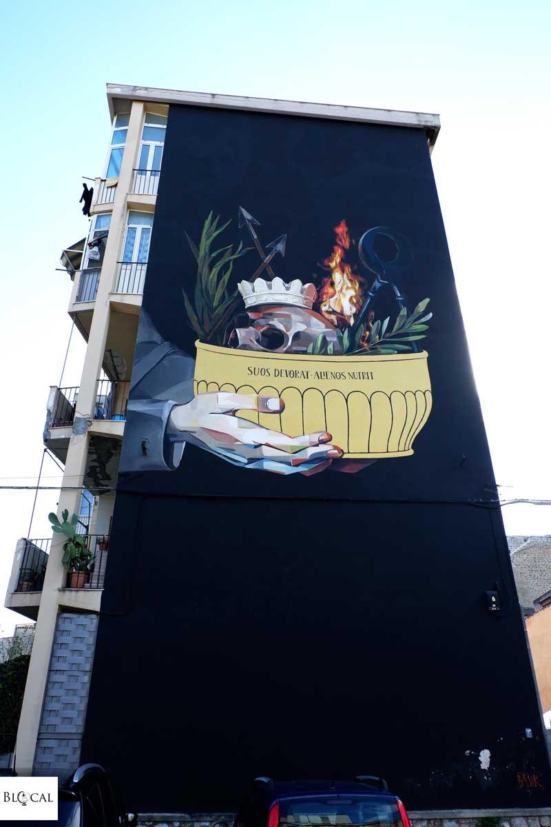 basik mural in palermo