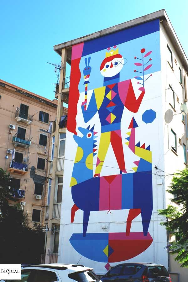 camilla falsini mural in palermo
