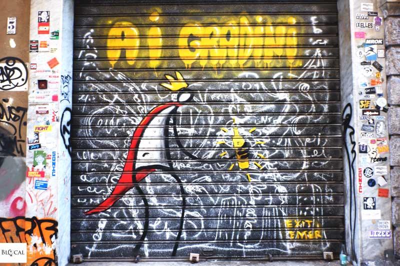 exit enter street art palermo