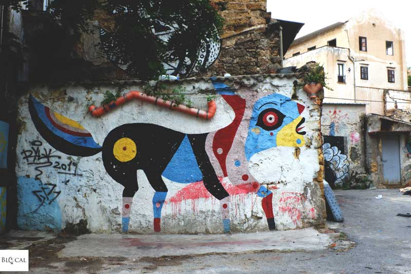 gio pistone street art palermo ballarò