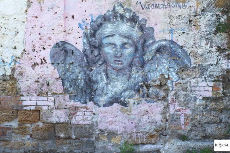 lucamaleonte street art palermo
