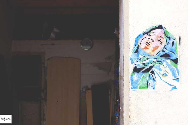 tuttoeniente stencil street art palermo