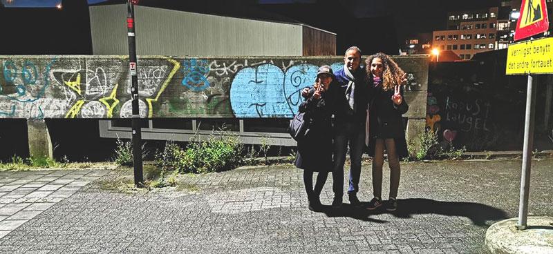 Sami Wakim street art United States blog