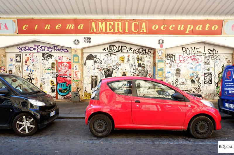 cinema America occupato Trastevere Rome