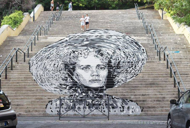 diavu elenasofiaricci streetart roma