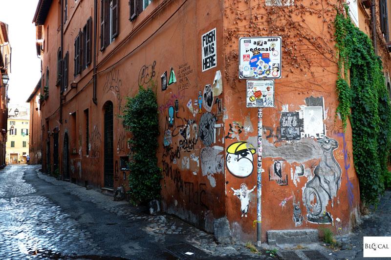 street art Trastevere Roma