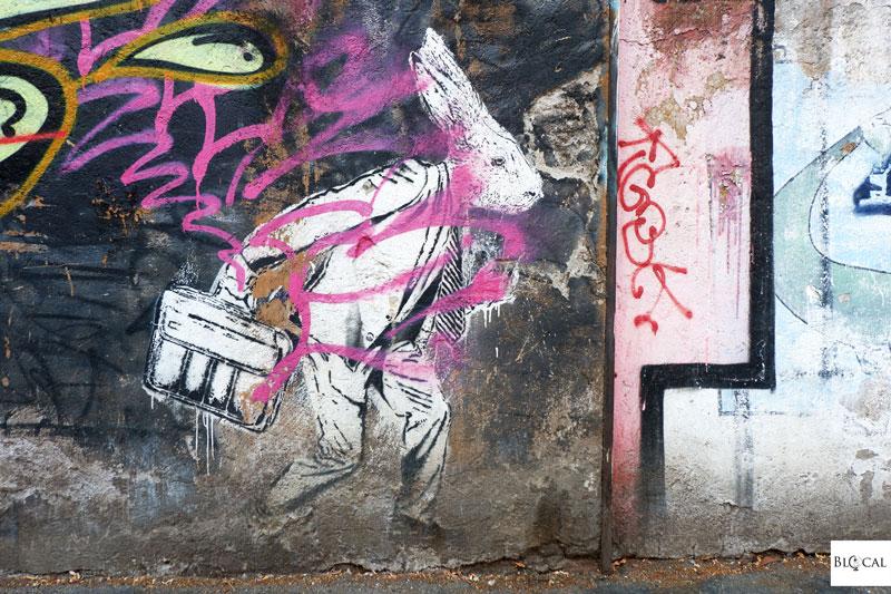 hogre street art San Lorenzo Roma