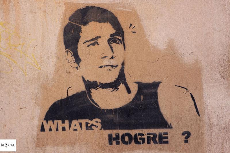 hogre stencil rome San Lorenzo